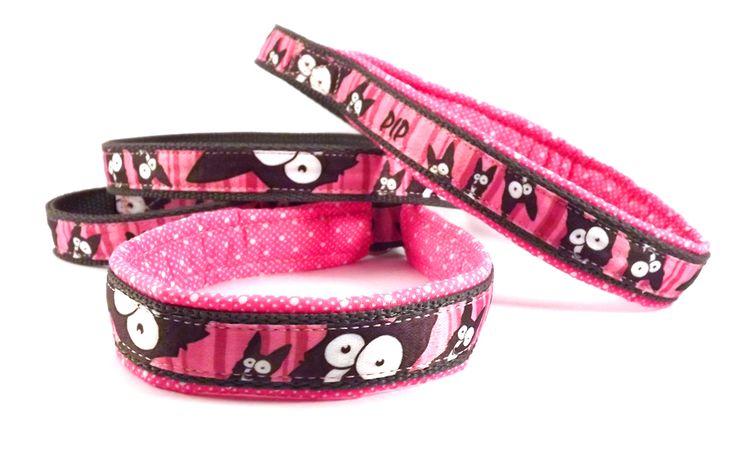 collar leash, with homemade ribbon / nyakörves póráz, saját készítésű szalaggal. #colorfundogs #collarleash