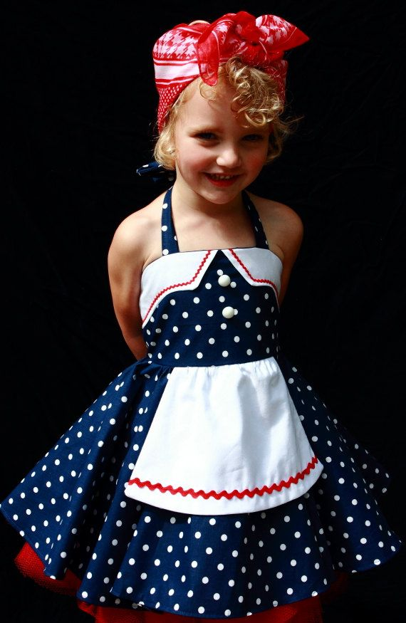 i love lucy blue polka dot halter dress with apron this is an adorable blue polka dot halter dress with white and red rickrack detail the - I Love Lucy Halloween Costumes