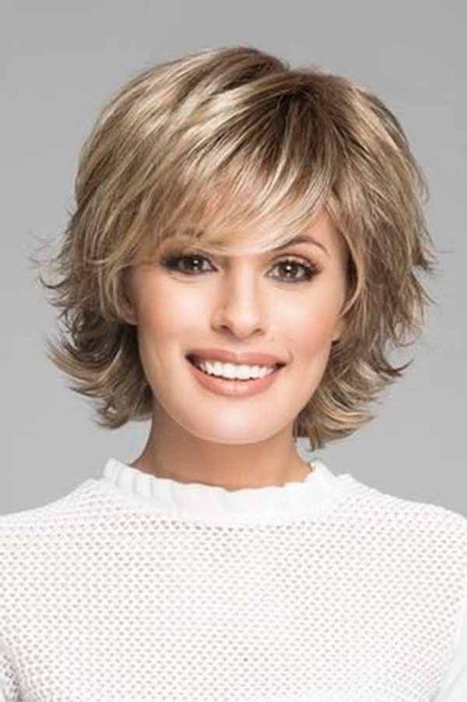 Short Best Hairstyles For Women Over 60 In 2020 Short Haircut Styles Womens Hairstyles Thick Hair Styles