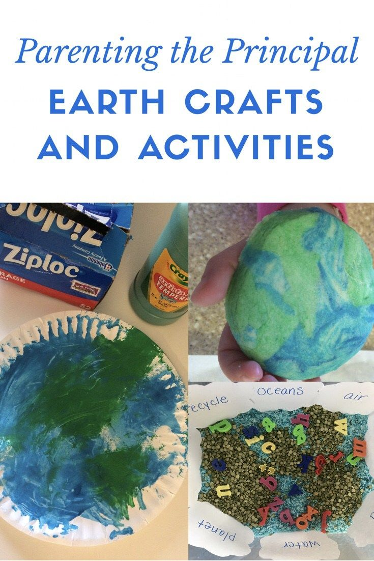 Earth Crafts and Activities - Parenting the Principal