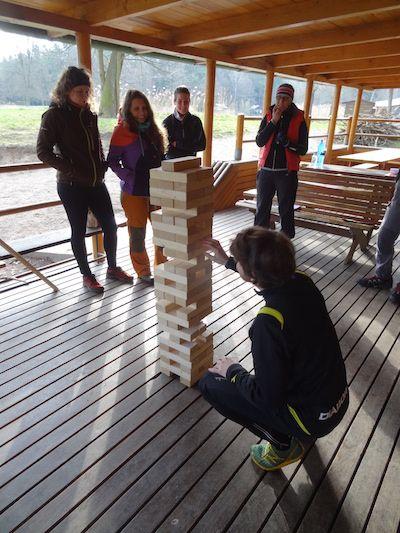 Školení instruktorského týmu nové teambuildingové aktivity OMT group