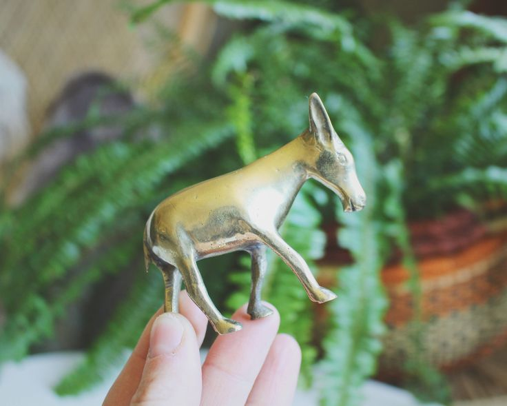 A personal favorite from my Etsy shop https://www.etsy.com/listing/533668729/brass-figurine-vintage-brass-donkey-mid
