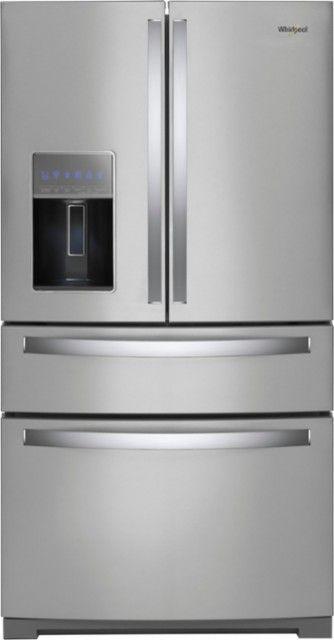 Whirlpool 26.2 Cu. Ft. 4-Door French Door Refrigerator Silver WRX986SIHZ - Best Buy