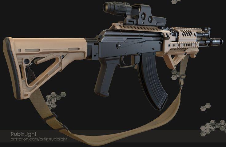 Tactical-AK-1 by RubixLight