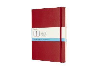 Σημειωματάριο Moleskine Dotted Scarlet Red - Extra Large | Public