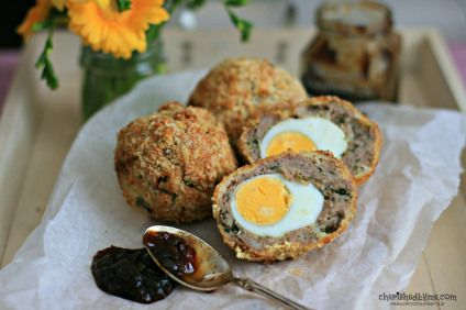 Homemade Scotch Eggs - Cherished By Me
