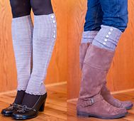 Ravelry: Vanity Fair Legwarmers and Boot Toppers pattern by Melissa Schaschwary