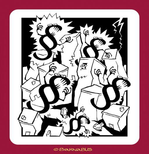 © Barnabus - Pogromcy biurokracji ▪ #Bureaucracy Busters - kadr ▪ frame of the #comic strip.
