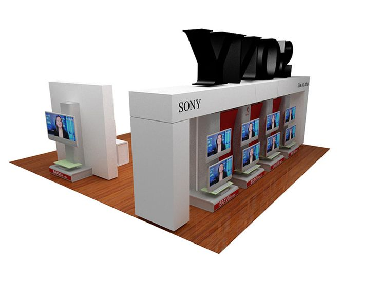 Category: Installation Architecture – Expo Stand Client: SONY NTC – Syriaoptica 2008 - Damascus   Area Space: 80 sq. meter Year of completion: 2008