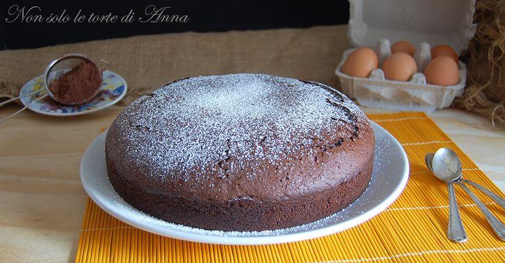 Torta soffice cacao e nocciole