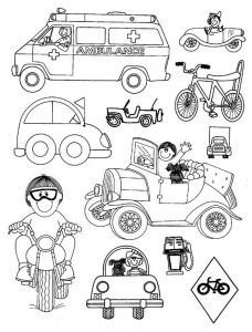 find this pin and more on land transportation coloring pages by ahmettanis51