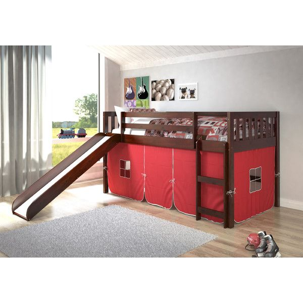 Found it at Wayfair - Mission Twin Low Loft Bed