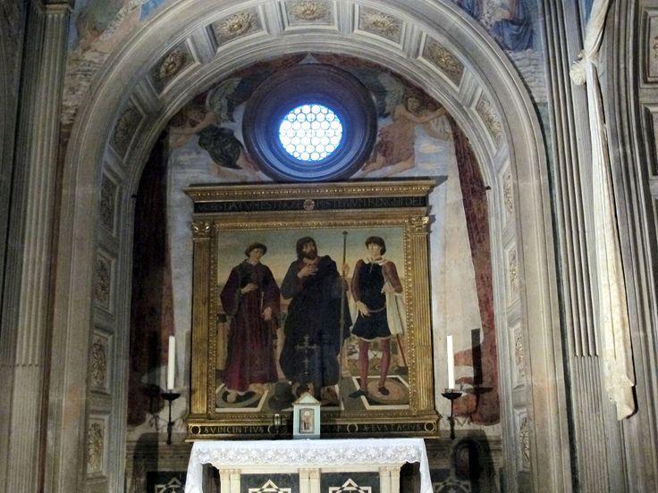 Cappella del cardinale del portogallo, copia della pala dei del pollaiolo - Category:Cappella del Cardinale del Portogallo - Wikimedia Commons