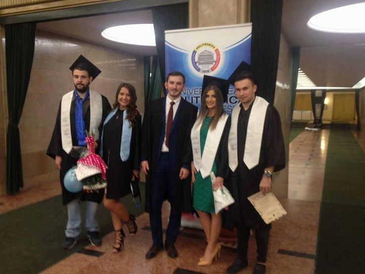 """Fosti elevi ai Colegiului """"Edmond Nicolau"""" din Focsani, acum absolventi ai Politehnicii Bucuresti - promotia 2016, Carol I"""