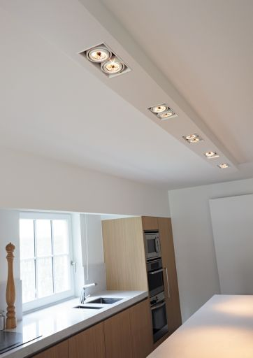Verlichting plafond keuken spots