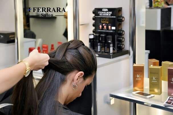 #hair #wedding #acconciature #capelli #trecce