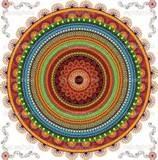 Image detail for -Colorful Henna mandala design | Stock Vector © Krishna Somya #8812850