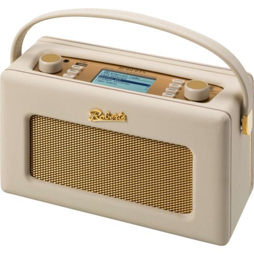 Robert-REVIVAL-iStream-2-Cream-Stylish-Retro-Portable-DAB-DAB-FM-WiFi-Radio-New