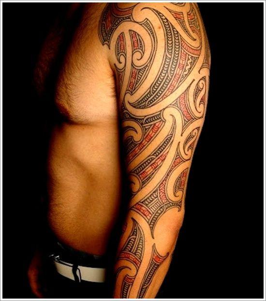 Maori Tribal Tattoo Designs Tips: 3d Maori Tribal Tattoo Ideas For Men On Sleeve ~ Tattoo Design Inspiration