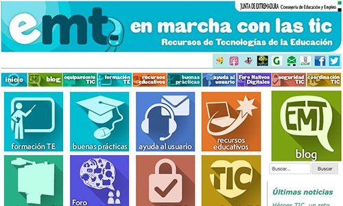 En Marcha con las TIC, una página de consulta y ayuda para profesores | Educación 3.0