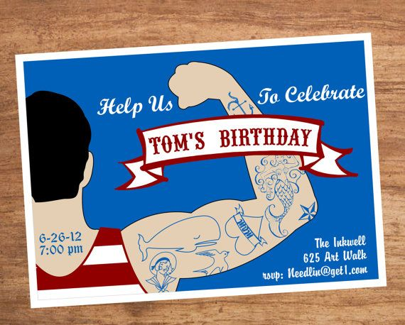 21 best Dirty 30 Tattoo Party images – Tattoo Party Invitations