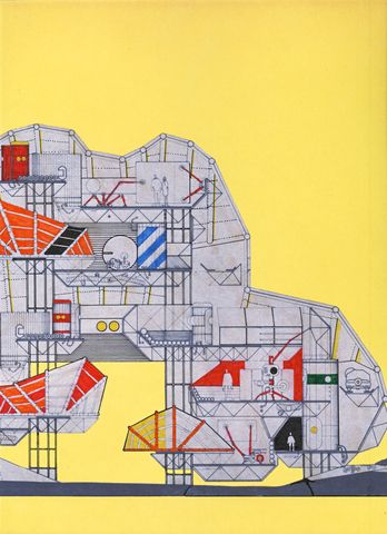 30 best archigram 10 collages images on pinterest for Minimalist architecture theory