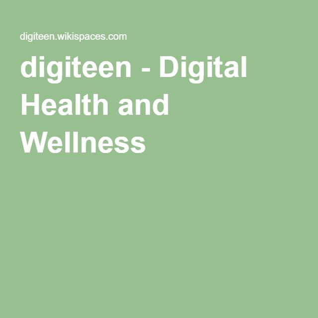 digiteen - Digital Health and Wellness