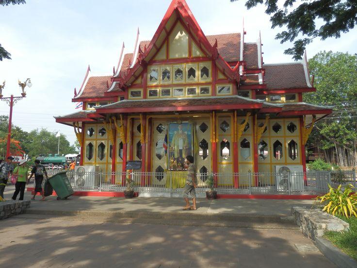 Scenic Railway Station in Hua Hin, Thailand