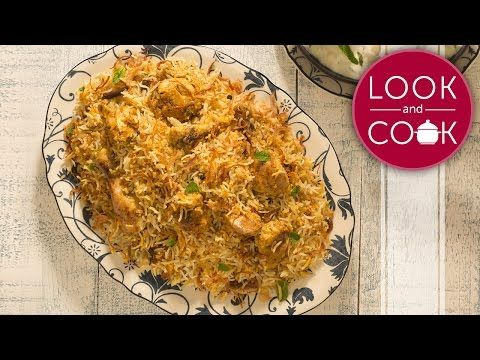How to make hyderabadi chicken biryani step by step photo recipe
