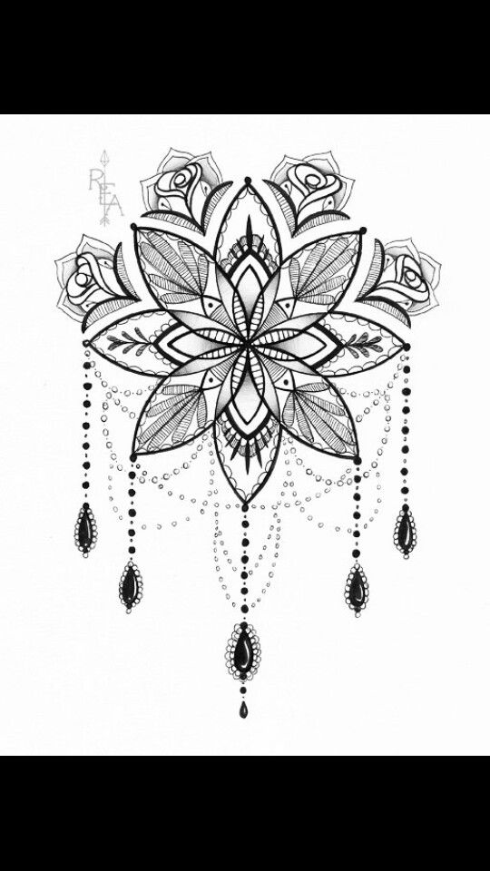die besten 25 mandala blumen tattoos ideen auf pinterest lotus mandala design lotusblumen. Black Bedroom Furniture Sets. Home Design Ideas