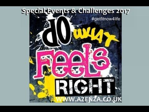 Azenza International Special Events & Challenges 2017 | Azenza International #getfitnow4life #POWERYOURJOURNEY