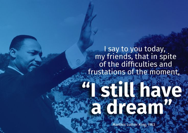 Marthin Luther King #quote I still have a #dream