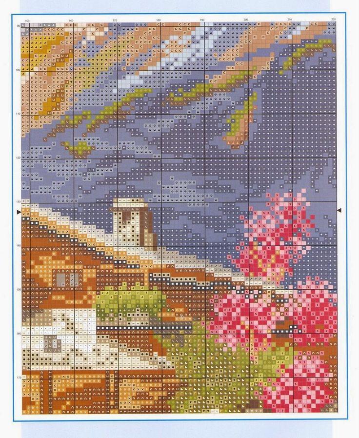 1000 images about landscape plastic canvas on pinterest - Casa di montagna ...