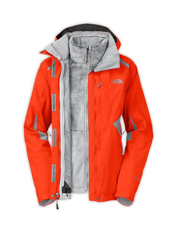 North face winter jackets women