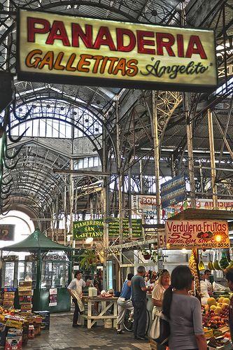 Market of San Telmo, Buenos Aires, Argentina