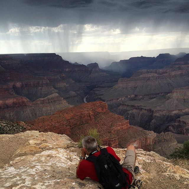 Tordenvejr over Grand Canyon by anjalykkebo