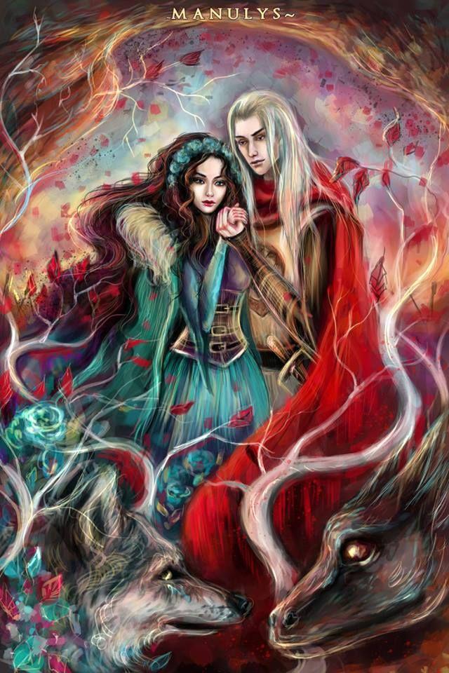 Lyanna and Rhaegar by Manulys