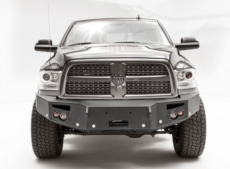 Fab fours dr16c40511 winch front bumper with sensor