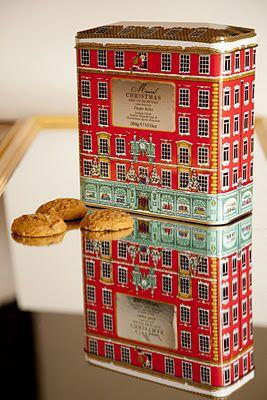Fortnum and Mason biscuits jar. Musical biscuit tin with biscuits also winds up on the bottom and plays a Christmas tune either jingle bells or we wish you a merry christmas.