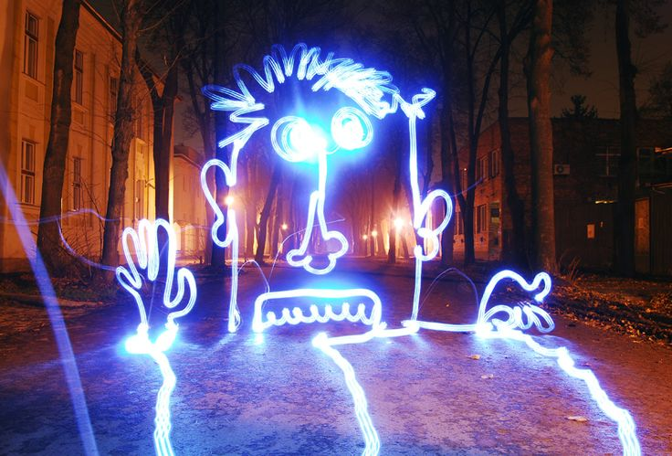 lightpainting by the hungarian Light Scribblers (magyar fényfestők, a Light Scribblers fényfestése)