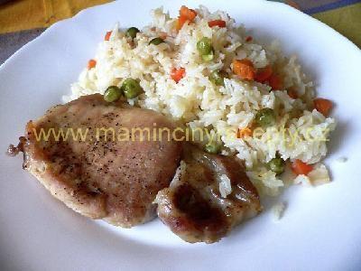 Kotlety na rýži