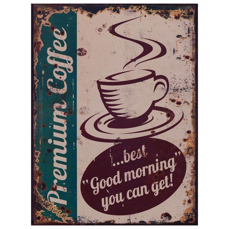 Alte Reklame Werbetafel Blechschild Premium Coffee Vintage Retro Werbung Kaffee - Kaufen bei Luxuspur.ug (haftungsbeschränkt)
