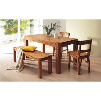 dinos dining table and bench set