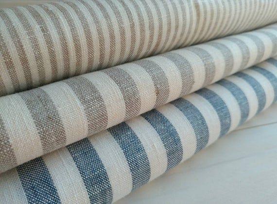 Natural 100 Linen Fabric High Quality Linen Fabric Width 59 150 Cm Colours Cream Beige St Linen Fabric Natural Linen Fabric Linen Upholstery Fabric