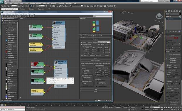 3Ds MAX 2011 Screenshots