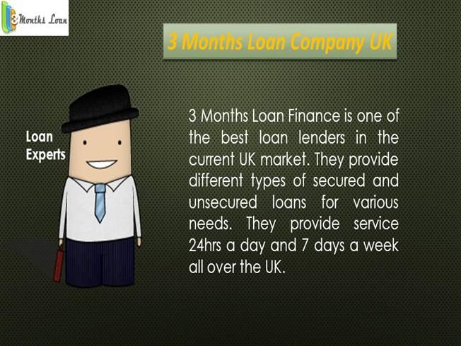 Payday Loans - 3 months loan lenders Uk by 3monthsloan via authorSTREAM