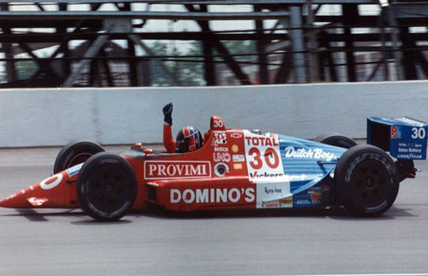 Indy 500 winner 1990: Arie Luyendyk  Starting Position: 3  Race Time: 2:41:18.404  Chassis/engine: Lola/Chevy Indy V8