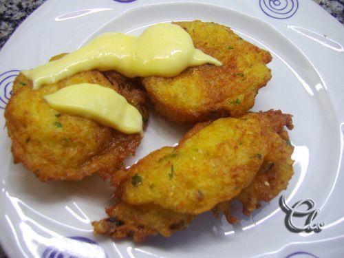 Huevos tontos de bacalao - Receta Petitchef