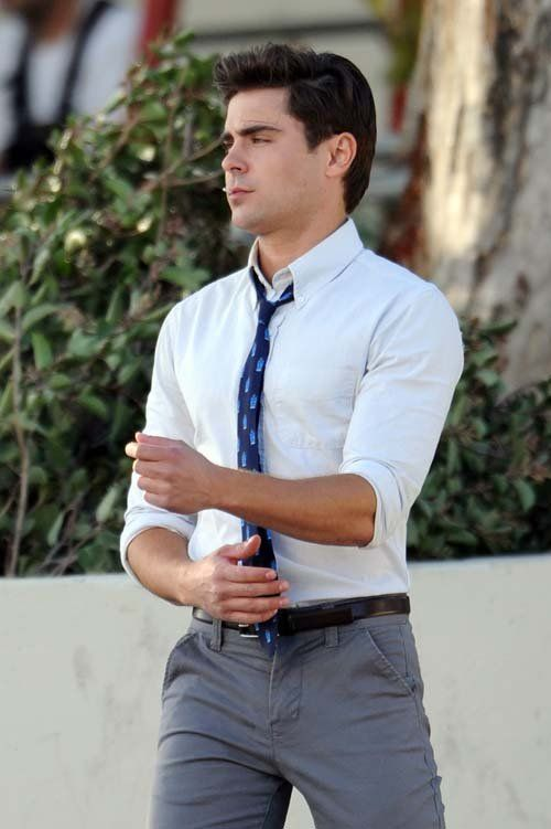 Zac Efron on the set of Townies in Los Angeles ~ April 4, 2013