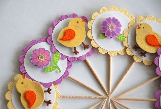 Spring Paper Crafts Pinterest